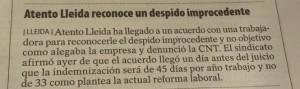Prensa sentencia REDES